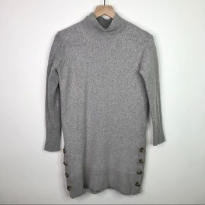 Banana Republic gray turtleneck sweater size small